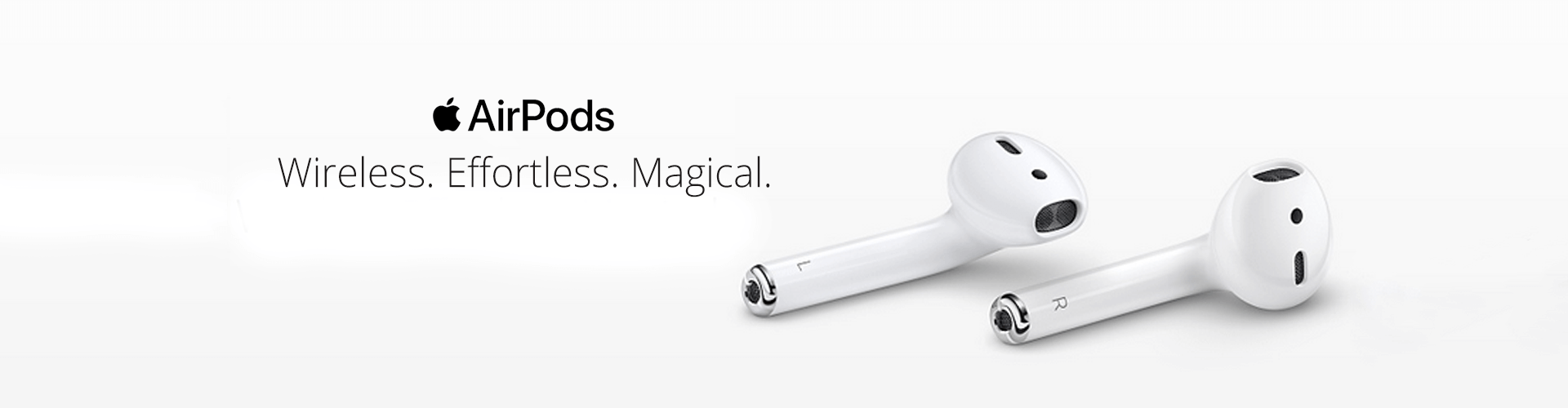 Apple airpods wireless effortless magical