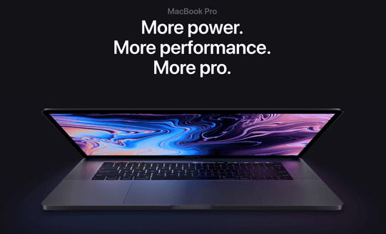 Mackbook pro more power and performance