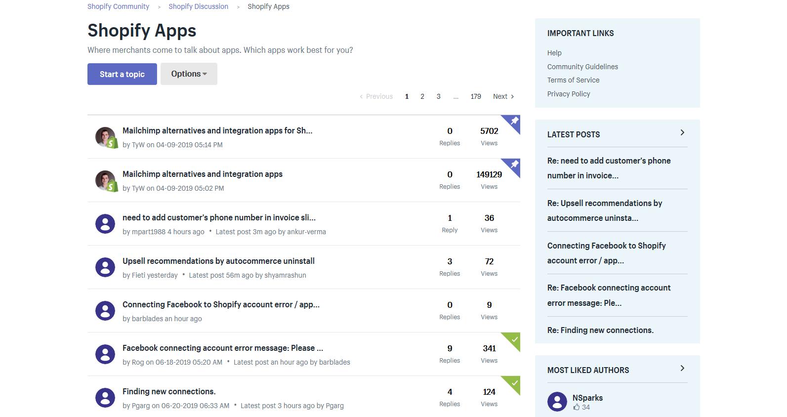 Connectplus shopify community
